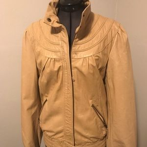 Anthropologie IDRA leather jacket